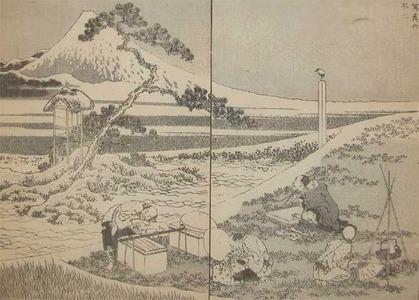 Katsushika Hokusai: Drawing Fuji from Life - Ronin Gallery