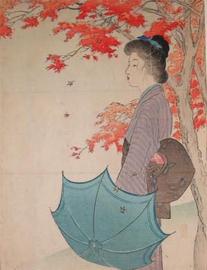 武内桂舟: Maple Leaves in Autumn - Ronin Gallery