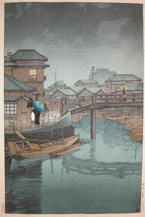 Kawase Hasui: Shinagawa - Ronin Gallery