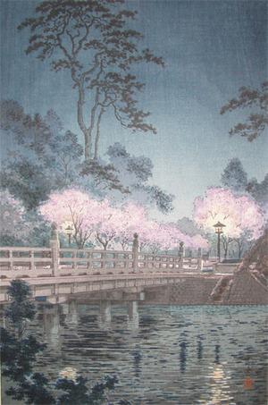 Tsuchiya Koitsu: Benkei Bridge - Ronin Gallery