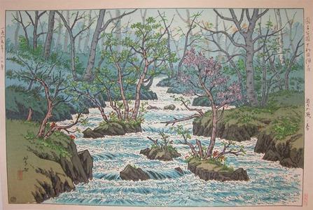 Henmi Takashi: Spring at Okuirise - Ronin Gallery