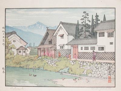 Yoshida Toshi: Matusmoto - Ronin Gallery