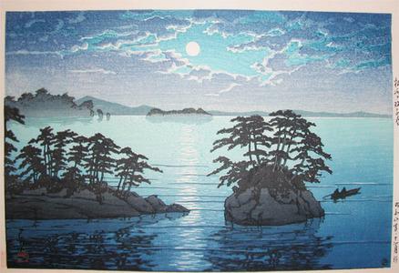 川瀬巴水: Twin Islands at Matsushima - Ronin Gallery