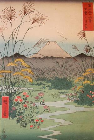 歌川広重: Otsuki-no-hara, Kai - Ronin Gallery