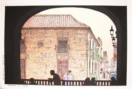 Yoshida Toshi: Havana in 1954 - Ronin Gallery