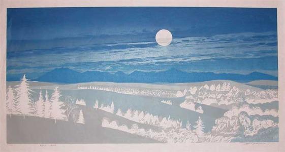 Hagiwara, Tsuneyoshi: Full Moon - Ronin Gallery
