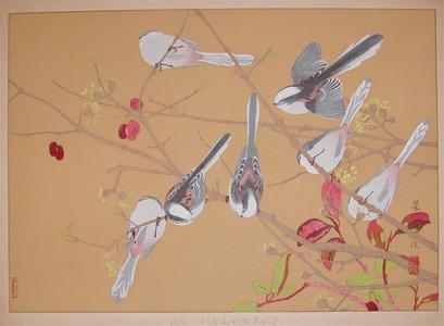Rakuzan: Early Spring; Enaga - Ronin Gallery