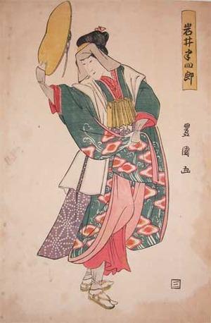 Utagawa Toyokuni I: Kabuki Actor Iwai Hanshiro - Ronin Gallery