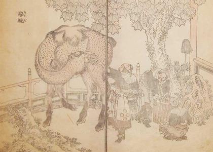 Katsushika Hokusai: Camel - Ronin Gallery