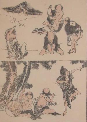 Katsushika Hokusai: Having Fun - Ronin Gallery