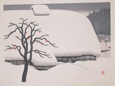 Kawashima: Mountain Village in Winter - Ronin Gallery