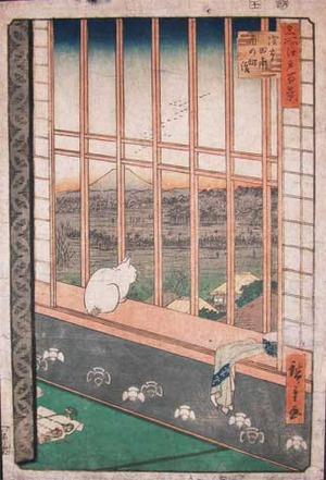 歌川広重: Asakusa, Ricefields and Torinomachi - Ronin Gallery
