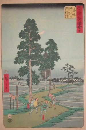 歌川広重: Akasaka - Ronin Gallery