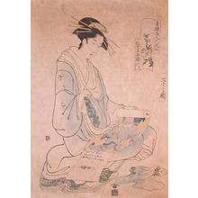 Eishi: Courtesan Kisegawa from Matsubaya - Ronin Gallery