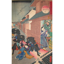 二代歌川国貞: Act. X; Amagawaya Scene - Ronin Gallery