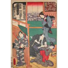 Utagawa Kunisada: Lovers Tatoo - Ronin Gallery