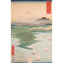 歌川広重: Noge, Yokohama. Musashi - Ronin Gallery