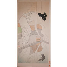 Hashiguchi Goyo: At a Hotsprings - Ronin Gallery