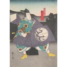 Utagawa Kunikazu: Arashi Kichisaburo - Ronin Gallery