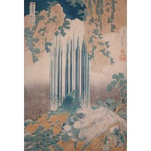 葛飾北斎: Yoro Waterfall at Mino - Ronin Gallery