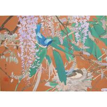 Rakuzan: Late Spring: Wisteria, Bamboo and Koruri - Ronin Gallery