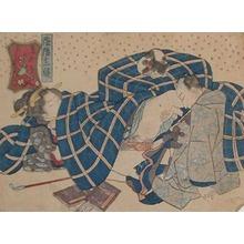 Utagawa Kunisada: Sleeping Cat - Ronin Gallery