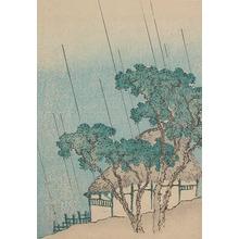 Shigenobu: House in Rain - Ronin Gallery