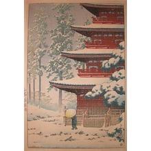川瀬巴水: Saishoin, Hirosaki - Ronin Gallery