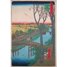 Utagawa Hiroshige: Koume Embankment - Ronin Gallery
