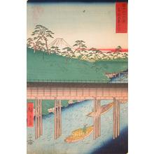 歌川広重: Ochanomizu, Edo - Ronin Gallery