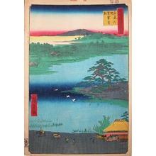 Utagawa Hiroshige: Senzoku Pond - Ronin Gallery