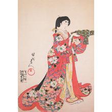 豊原周延: Woman of Chiyoda Castle - Ronin Gallery