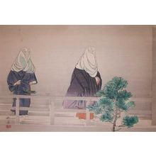 Tsukioka Kogyo: Ohara Goko: The Imperial Visit to Ohara - Ronin Gallery
