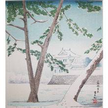 Tokuriki: Nijo Castle in Snow - Ronin Gallery