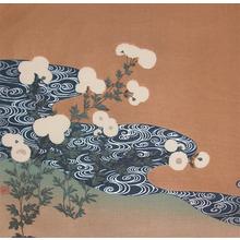 Tsukioka Kogyo: Flower and Stream - Ronin Gallery