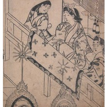 Hishikawa Moronobu: Viewing Classical Shinto Music - Ronin Gallery