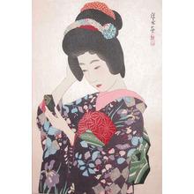 Ito Shinsui: Hand Mirror - Ronin Gallery