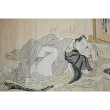 Katsukawa Shuncho: The Housemaid: A Break from Castle Service - Ronin Gallery
