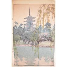 Yoshida Hiroshi: Sarusawa Pond - Ronin Gallery