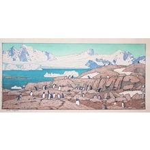 Yoshida Toshi: Gentoo Penguins - Ronin Gallery