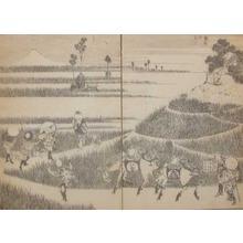 葛飾北斎: Fuji in a Good Harvest - Ronin Gallery