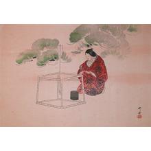 Tsukioka Kogyo: Noh Play - Ronin Gallery