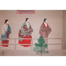 Tsukioka Kogyo: Sumiyoshi-mode; The Pilgrimage to Sumiyoshi - Ronin Gallery
