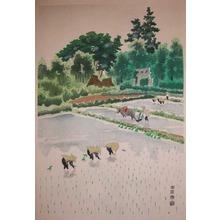 Kotozuka: Rice Planting - Ronin Gallery