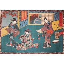 Utagawa Kunisada: Tale of Genji, Usugumo - Ronin Gallery