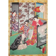 二代歌川国貞: Chapter 30, Fujibakama: Purple Trousers - Ronin Gallery