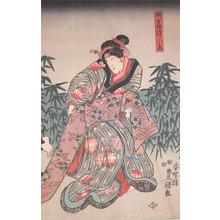 歌川国貞: Oito - Ronin Gallery