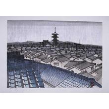 Sekino: Pagoda in Rain, Kyoto - Ronin Gallery