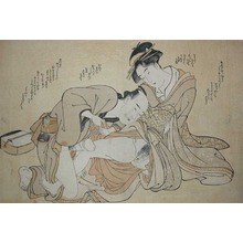 Katsukawa Shuncho: Young Maiden - Ronin Gallery