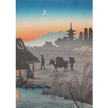 Watanabe Shotei: Returning Home - Ronin Gallery
